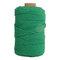 1Pc 200 mx4mm Colore Cotone Corda Filo di cotone Intrecciare la corda Mano FAI DA TE Decorativo Corda Arazzo Corda di tessitura - verde