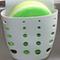 Kitchen Sink Sponge Hanging Bags Saddle Debris Drainage Basket Storage Sponge Rack Holder - Grey