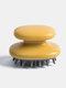 Portable Household Scalp Massage Comb Detachable Bath Shampoo Air Cushion Combs - Yellow