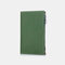 Women Genuine Leather Anti-theft Travel Wallet Multi-function Ticket Holder ID Card Wallet - Green
