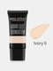 9 Colors Face Liquid Foundation Full Coverage Waterproof Facial Concealer Cream - Ivory 6