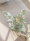 Trendy Brief Colorful Butterfly-shape Acetate Sheet Hair Clip - #08
