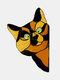 1 PC PVC Cartoon Peeking Cat Dog Cute Home Decoration Self-adhesive Waterproof Window Sticker Wall Sticker - #07