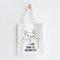 Cute Cat Prints Canvas Shoulder Bag Casual Bag - #02