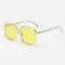 Occhiali da sole anti-UV trasparenti per donna