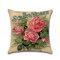 Rose Hug Pillowcase Mediterranean Nordic Style Car Cushion Cover - #1