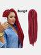 22 цвета цветная грязная коса Спираль длинная Волосы конский хвостик маленькая весна кудрявая Парик - #18