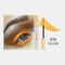 3D Colorful Mascara Long Curling Thick Silky Waterproof Lasting Eyelash Extension Beauty Makeup - Gold