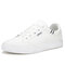 Men Brief PU Lace-up Non Slip Stylish Casual Walking Shoes - White
