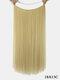 10 цветов длинные прямые Волосы удлинители химического волокна без следов ложные Волосы шт. - #06