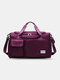 Lightweight Sports Gym Bag with Wet Pocket & Shoes Compartment Travel Duffel Bag Lightweight - Rose