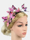 Christmas Three-Dimensional Butterfly Butterfly Bride Photography Photo Headdress - #06