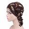 Cappello in chiffon pastorale floreale per donna cappello in chiffon fresco
