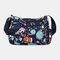Women Nylon Print Waterproof Anti theft Casual Crossbody Bag Shoulder Bag - #06