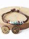 Vintage Constellation Circle-shape Ceramic Alloy Bracelets - #10