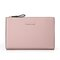 PU Leather 19 Card Slot Holder Hasp Long Purse Clutches Bags - Pink