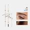 4 Farben Künstler Skizze Augenbrauenstiftcil Wasserdichter, schweißfester, natürlicher, langlebiger, superfeiner Augenbrauenstift - # 04