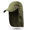 Men Women Outdoor Sports Cotton Wild Cap Casual Visors Breathable Baseball Cap - Army