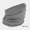 Windproof Sunscreen Dust Mask Headgear Hat - Gray