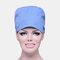 Solid Color Scrub Cap Surgical Hat Nurse Doctor Cap Veterinarian Hat  - Light Blue
