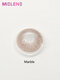 2 Pcs Smoky Marble Non-prescription Yearly Colored Contact Lenses - Marble