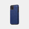 Multifunctional Leather Card Holder Wallet Phone Case For iPhone - Blue