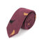 Männer Baumwolle Vogel Feder Krawatte Mode Vintage Formal Business Casual Arbeitsanzug Krawatte