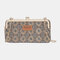 Women 8 Card Slots Print Phone Bag Crossbody Bag - #09