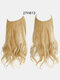 40 Colors Fishing Line Long Curly False Hair Pieces No-Trace Hair Extensions - 25