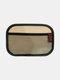 Multifunctional Vehicle Mobile Phone Storage Net Pocket Sticky Car Seat Back Portable Car Storage Bag - #11