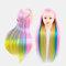 Multicolor Hairdressing Training Head Model Braided Disc Hair Salon Hairdresser Practice Mannequin - 01