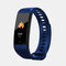 Smart Band Heart Rate Blood Pressure Monitor Bluetooth Color Screen Smartband Activity Monitor Fitness Tracker - Dark Blue