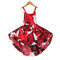 Floral Printed Girls Strap Casual Dress For 1Y-11Y - 3