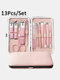 10/13/15/18 Pcs Stainless Steel Nail Clipper Set Manicure Set Nail Tool - #02