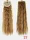 10 цветов конский хвост Волосы удлинительный галстук Веревка кукурузная пермская коса длинный вьющийся хвост - #07