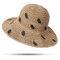 Женское Складной солнцезащитный крем-ведро Шапка На открытом воздухе Повседневные путешествия Пляжный Море Шапка