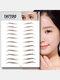 3D Eyebrow Tattoo Sticker Long Lasting Waterproof False Eyebrows Cosmetics - 12 Brown