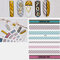 3D Sports Trendy Style Sign Nail Stickers Waterproof DIY Colorful Tips Nail Decals Manicure - 37