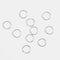 5個/パックパーソナリティカジュアルヘアクリップ小さな三つ編みDIYの葉スターシェル女性ヘアアクセサリー - 05