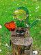 1PC Acrylic Koroks Family Zelda Game-theme Leaf Fairy Insert Card For Garden Decor Game Lovers - #08