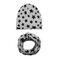 Cool Boy Print Sombrero Set de bufanda para 0-4 años - 2