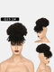 5 Colors Africa Small Curly Short Wig Fluffy Bangs Explosive Head Hair Bag - #02