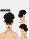 5 цветов Африка Маленькие вьющиеся короткие Парик Пушистая челка с взрывной головкой Волосы Сумка - #02