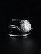 Elegant Opening Diamond Nail Ring Tail Ring - #06
