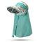 Женское Печать Многофункциональный Шея Защитный колпачок для хвоста Солнцезащитный платок UV Защитный колпачок