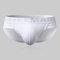 Mens Cotton Sexy Briefs Underwear Breathable Letter Print Low Waist With Pouch