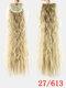 10 цветов конский хвост Волосы удлинительный галстук Веревка кукурузная пермская коса длинный вьющийся хвост - #09