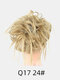 41 Colors Chicken Tail Hair Ring Messy Fluffy Rubber Band Curly Hair Bag Wig - 18