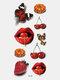 40 piezas 3D estéreo Impermeable tatuajes pegatinas escorpión flor transferencia de agua tatuaje pegatinas - 33