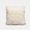 Nordic Wind Solid Color Sofa Pillow Office lumbar Pillow Car Cushion Cover - White